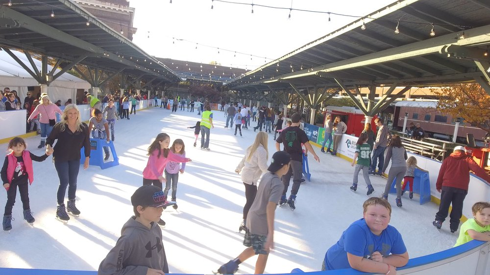 Image result for ice skating in chattanooga